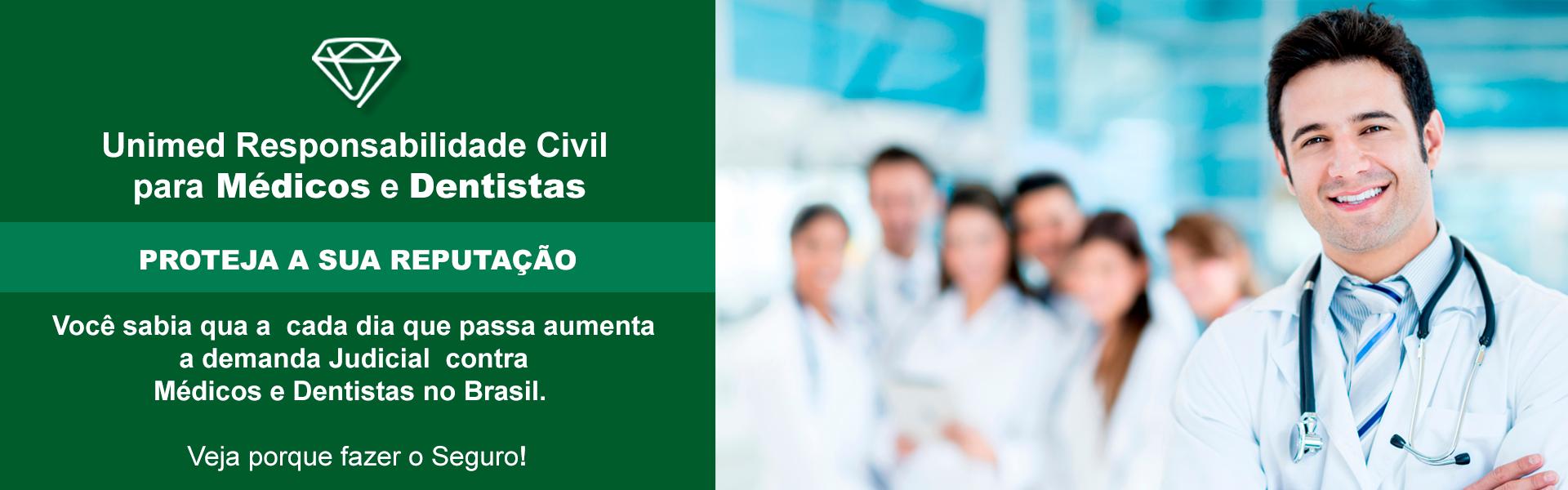 Responsabilidade Civil para Médicos e Dentistas - Clique Aqui!
